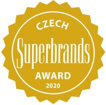 CZECH Superbrands award 2020